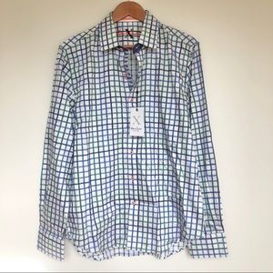 Robert Graham X Collection Button Down{Large}